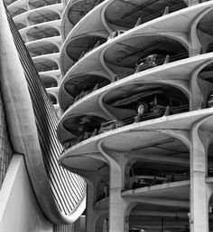 Bertrand Goldberg Carpark Chicago