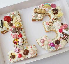 bolo biscoito numero 1 #Birthdaycookies
