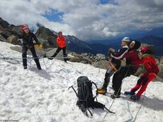 GFHM alpi féminin CAF chamonix alpinisme groupe