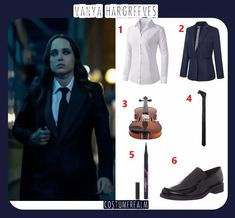Best Diy Vanya Hargreeves Costume Guide, Diy The Umbrella Academy Costume Guide Easy Costumes, Movie Costumes, Diy Halloween Costumes, Costume Ideas, Cosplay Outfits, Cosplay Ideas, Fandom Outfits, Scary Movies, Character Outfits