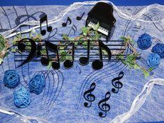 Tischdeko Musik