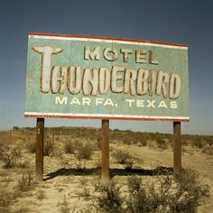 taking a road trip to marfa, tx and staying at the thunderbird hotel is on my bucket list!