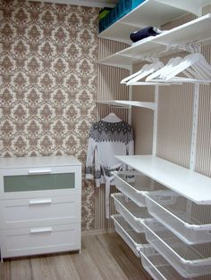 Trendy bedroom wardrobe ikea walk in Ideas Closet Designs, Trendy Bedroom, Bedroom Interior, Closet Bedroom, Bedroom Design, Bedroom Wardrobe, Bedroom Decor, Ikea, Ikea Algot
