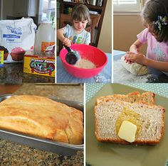 Homemade Honey Bread | 21 Fun And Delicious Recipes You Can Make With Your Kids