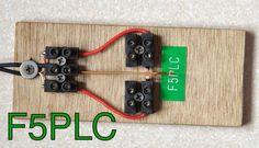 Preiswerter Wabbler; Low cost paddle; Clé à manette simple bon marché; Selbstbau/Homebrew/Construction de F5PLC