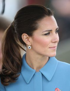 Kate Middleton-2014 -- T&C's Favorite Ponytails Of All TIme - Getty Images  - TownandCountryMag.com