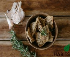 GF Garlic and Rosemary Crackers.  Home made crackers dont contain all those additives and preservatives like the boxed crackers do and with homemade you can experiment with flavours to find one you like!