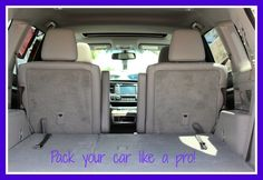 Learn how to pack your car like a pro with our Orlando Toyota road trip tips!   http://blog.toyotaoforlando.com/2015/07/plan-a-road-trip-with-orlando-toyota-tips/