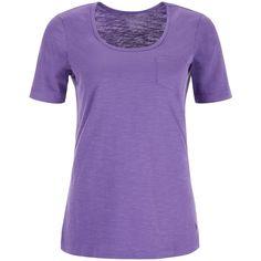 Dash Purple Patch Pocket Slub Tee (8 PAB) ❤ liked on Polyvore featuring tops, t-shirts, shirts, tees, clearance, purple, cotton logo t shirts, logo t shirts, cotton logo shirts and purple collared shirt