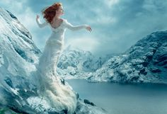 Amy Adams and Tim Burton Reimagine The Red Shoes – Vogue (Photographed by Annie Leibovitz, Vogue, December 2014)