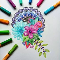 Doodle art - Astounding Exercises To Get Better At Drawing Ideas – Doodle art Mandala Art, Mandala Doodle, Design Mandala, Mandalas Painting, Mandalas Drawing, Doodle Art, Easy Mandala Drawing, Dibujos Zentangle Art, Zentangle Drawings