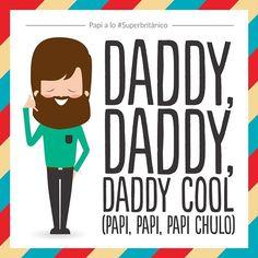 ¡Felicita a tu papi chulo a lo #Superbritánico!  www.superbritanico.com  #daddycool #daddy #dad #father #fatherday #DíadelPadre #papi #papichulo #padre #papá #papi #cool #boneym #lorna #familytime #family #fun #happy @superbritanico