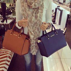 Bag Review: A Closer Look at the Michael Kors Selma Top-Zip Satchel in Luggage