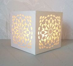 Tea Light Boxes Archives - Monicas Creative Room; free cut files in so many beautiful and intricate designs