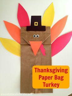 Thanksgiving Turkey Craft for Preschool