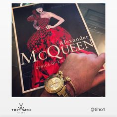 Alexander McQueen was a one-of-a-kind visionary, a true inspiration for all of us. Thank you Tiho for featuring our gold ToyWatch in this great shot!  Alexander McQueen was a one-of-a-kind visionary, a true inspiration for all of us. Thank you Tiho for featuring our gold ToyWatch in this great shot! ‪ #ToyWatch #watch #watches #style #fashion #accessories #menswear #forhim #TWlove #gold #chrono #mcqueen #designer #magazine