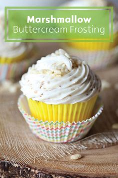 Take your buttercream frosting to the next level with the addition of toasted marshmallows for more delicious flavor and an extra creamy texture. It's the perfect topping for holiday desserts like cupcakes and cakes, but you won't hear any judgement from us if all you pair it with is a big spoon.