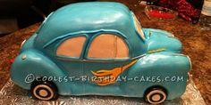 Cool 1941 Chevy Birthday Cake...