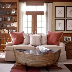 coffee table - boat style