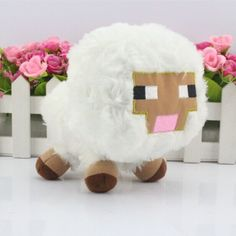Minecraft Baby Sheep Plush Toy #minecraft #plush #toys #cute