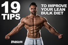 19 ways to improve your lean bulk diet. It's time to build size while remaining lean. Bodybuilder Brad Borland presents 19 rock solid tips to help you keep your body fat levels in check while gaining mass. #homeimprovementalBorland,