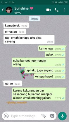 Quotes Rindu, Quotes Lucu, Cinta Quotes, Quotes Galau, Message Quotes, Life Quotes, Sweet Texts, Cute Texts, Quotes Romantis