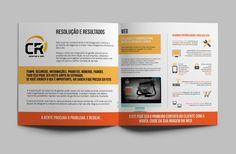 Cliente: CR Sistemas e Web  |  Perfil institucional  | #identidadevisual #design #branding #identity #visualidentity #corporatedesign