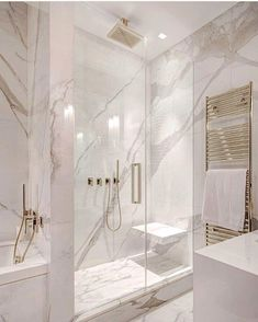 White and gray bathroom - # white - Badgestaltung ideen - Badezimmer