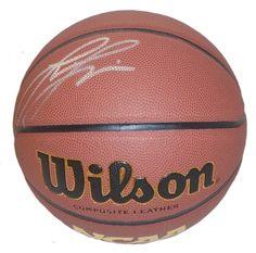 Lisa Leslie Autographed Wilson NCAA Indoor / Outdoor Basketball, Proof