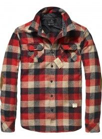 Scotch and Soda. Boyfriends flannel I think yes :) Sweat Shirt, Estilo Hipster, Cool Shirts, Flannel Shirts, Mens Flannel, Well Dressed Men, Men's Collection, Shirt Jacket, Mens Fashion