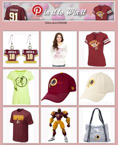 Time's running out! Enter to win a Ryan Kerrigan autographed jersey, plus one of these Redskins Team Store items that you pin, with the Redskins Pin It to Win It Valentine's Day Sweepstakes!     Submit your official entry at http://redsk.in/U9nwuM by Wednesday, February 13th at 11:59pm ET!