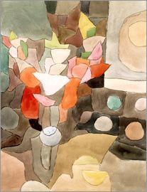 Paul Klee - Gladiolus Still Life