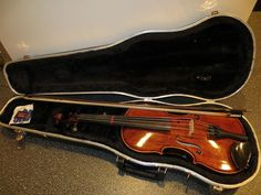 "Frederick Strobel Student 14"" Viola Model MA 85-14 With Hard Shell Case & Bow #Strobel"