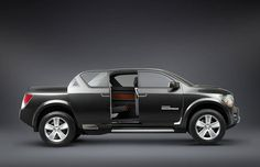 Concept Trucks | Photo: Dodge Rampage Concept Truck with the Rear Door Open