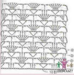 Vestidos e Saias Infantis em Crochê com Gráfico >>> acesse o blog
