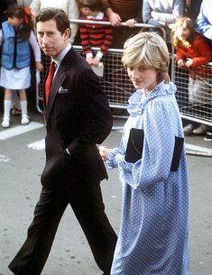 Princess Diana and Prince Charles...