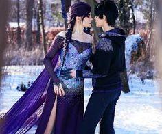 Dark Elsa and Dark Jack