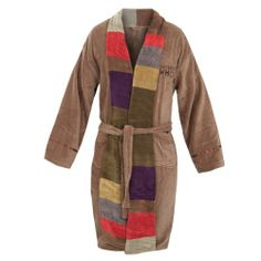 Deluxe Doctor Who 4th Doctory Adult Bathrobe, brown/multicolor, one size fits most Old Glory,http://www.amazon.com/dp/B00AI155SI/ref=cm_sw_r_pi_dp_E4aztb0TWT6X6WDB