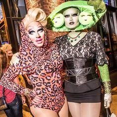 Trixie Mattel and Kim Chi Drag Queens, Katya Zamolodchikova, Trixie And Katya, King Club, Drag King, Queen Photos, Club Kids, Sexy Girl, Girls Be Like