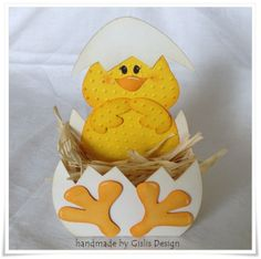 Osterk rbchen on pinterest easter baskets happy easter - Osterkorbchen kindergarten ...