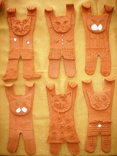 ZŠ a MŠ Lipová - Fotoalbum - Keramika - Keramika 2010 - 2011 Clay Projects For Kids, Crafts For Kids, Arts And Crafts, Art Lessons For Kids, Art For Kids, Paper Clay, Clay Art, Ceramic Painting, Ceramic Art
