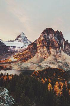 sitoutside:  Mount Assiniboine
