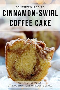 Southern Recipe - Cinnamon-Swirl Coffee Cake - Hands down, the best coffeecake you'll ever eat. You won't believe how easy it is to make. Turn a simple boxed cake mix into a cinnamon swirl coffee cake that tastes like its from your favorite coffeeshop. Food Cakes, Cupcake Cakes, Bundt Cakes, Cupcakes, Cake Mix Coffee Cake, Coffee Cake Recipe With Cake Mix, Coffee Cale, Sock It To Me Cake Recipe, Sour Cream Coffee Cake