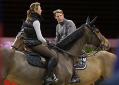Love Penelope Leprevost's outfit for fall/winter schooling.  The Gucci Paris Masters 2012 in Paris