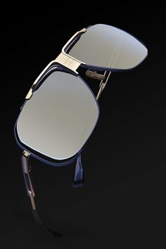The Dita Cascais in Navy and Gold  DITAeyewear Lentes 51472ca1913