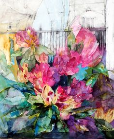 Acuarela de Shirley Trevena watercolor