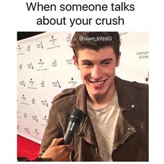 Lol so when someone talks about Shawn...