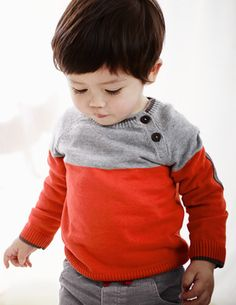 I've spotted this @BodenClothing Essential Colourblock Sweater  --- Mini Boden has such cute stuff.