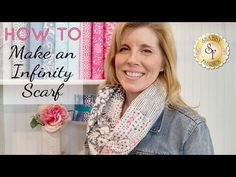 How to make a Fat Quarter Infinity Scarf | with Jennifer Bosworth of Shabby Fabrics - YouTube