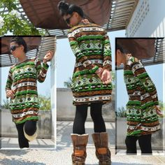 Native Pop Girly mini Dress  #fashion #dress #pop
